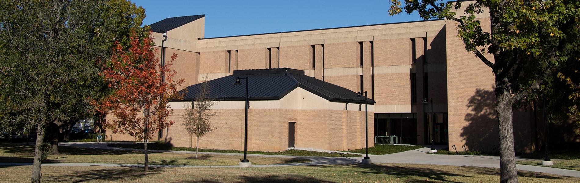 Art Building west entrance