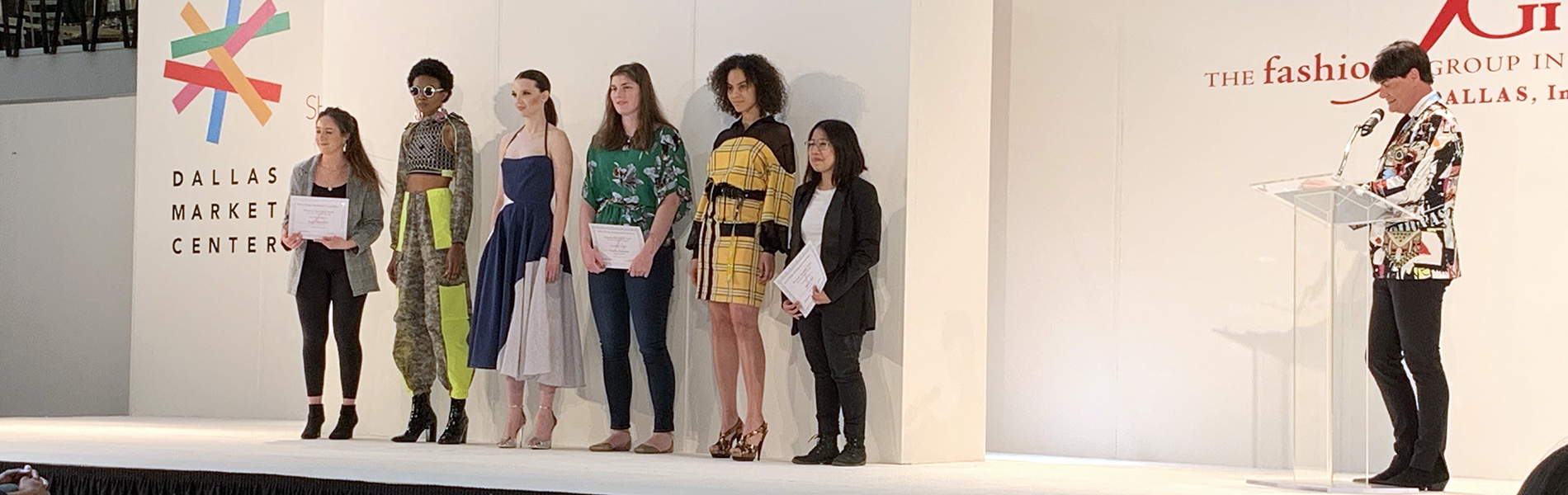 Fashion Design students at Dallas Market Hall