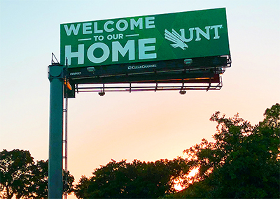 Welcome to our home, UNT